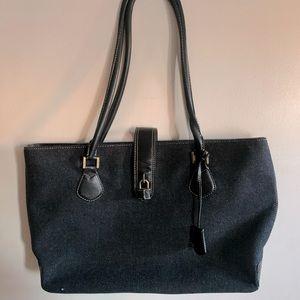Ash black JCrew bag